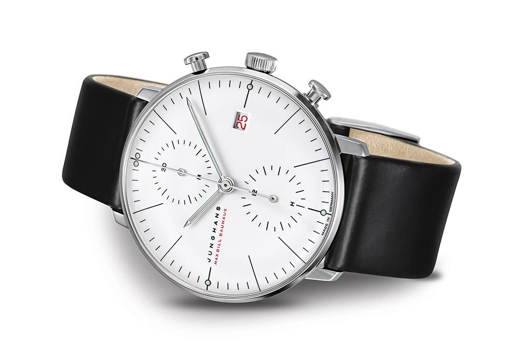 Deutsche Uhrenmarken Junghans Deutsche Uhrenmarken Junghans Max Bill Chronoscope 100J Bauhaus