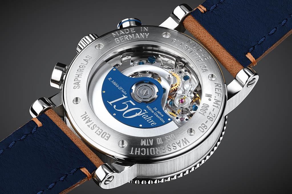 Deutsche Uhrenmarken Muehle Glashuette Jubilaeums-Rotor