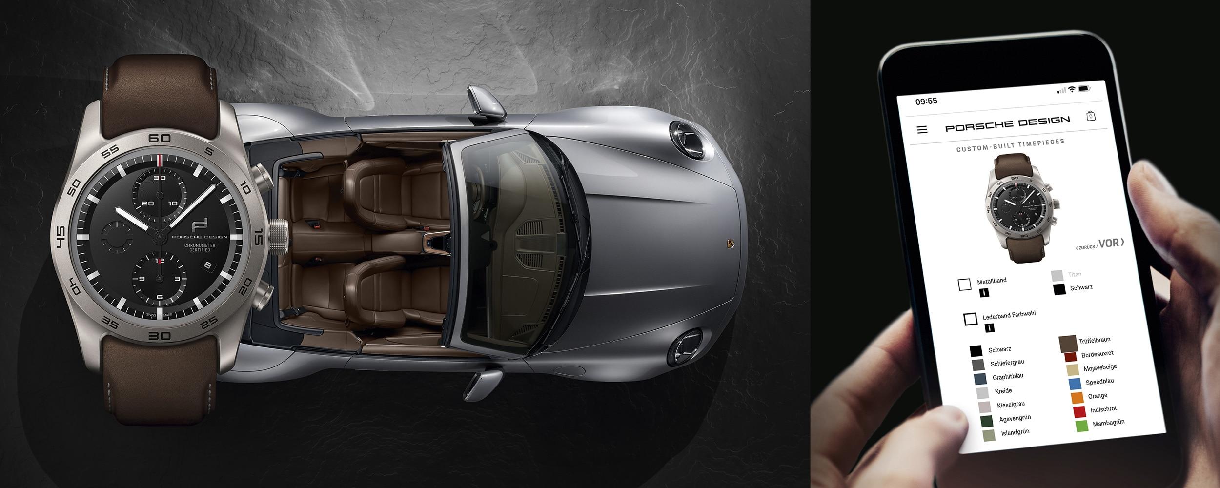 Porsche Design Uhren Konfigurator
