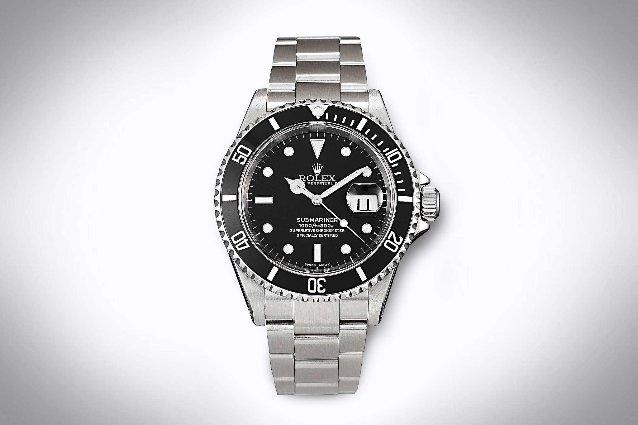 Rolex Submariner Referenznummer 16610