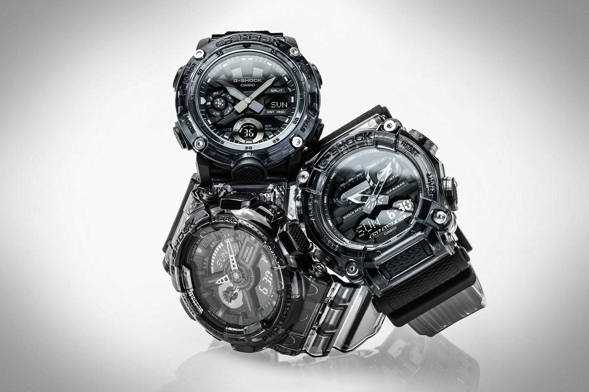 G-SHOCK Skeleton-Collection dark