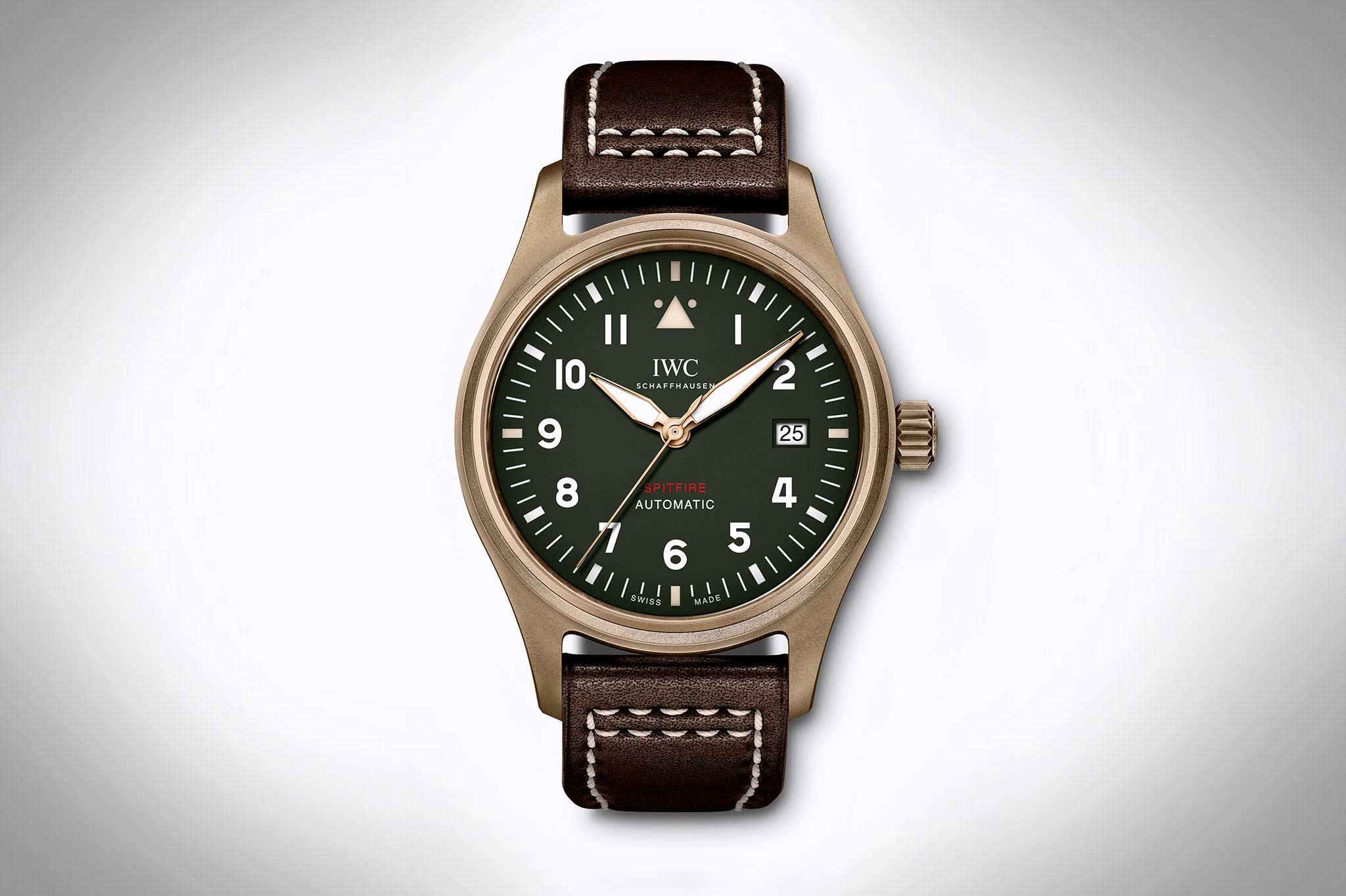 IWC Pilot's Watch IW326802 in Bronze