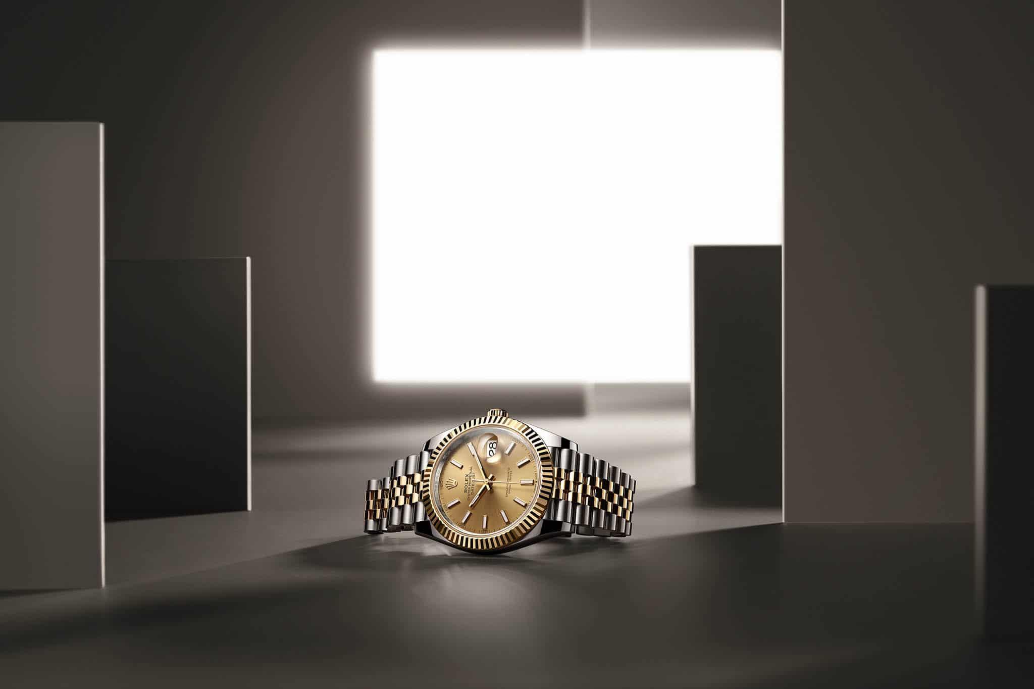 Fußballer Uhren - Rolex Oyster Perpetual Datejust 41 2021