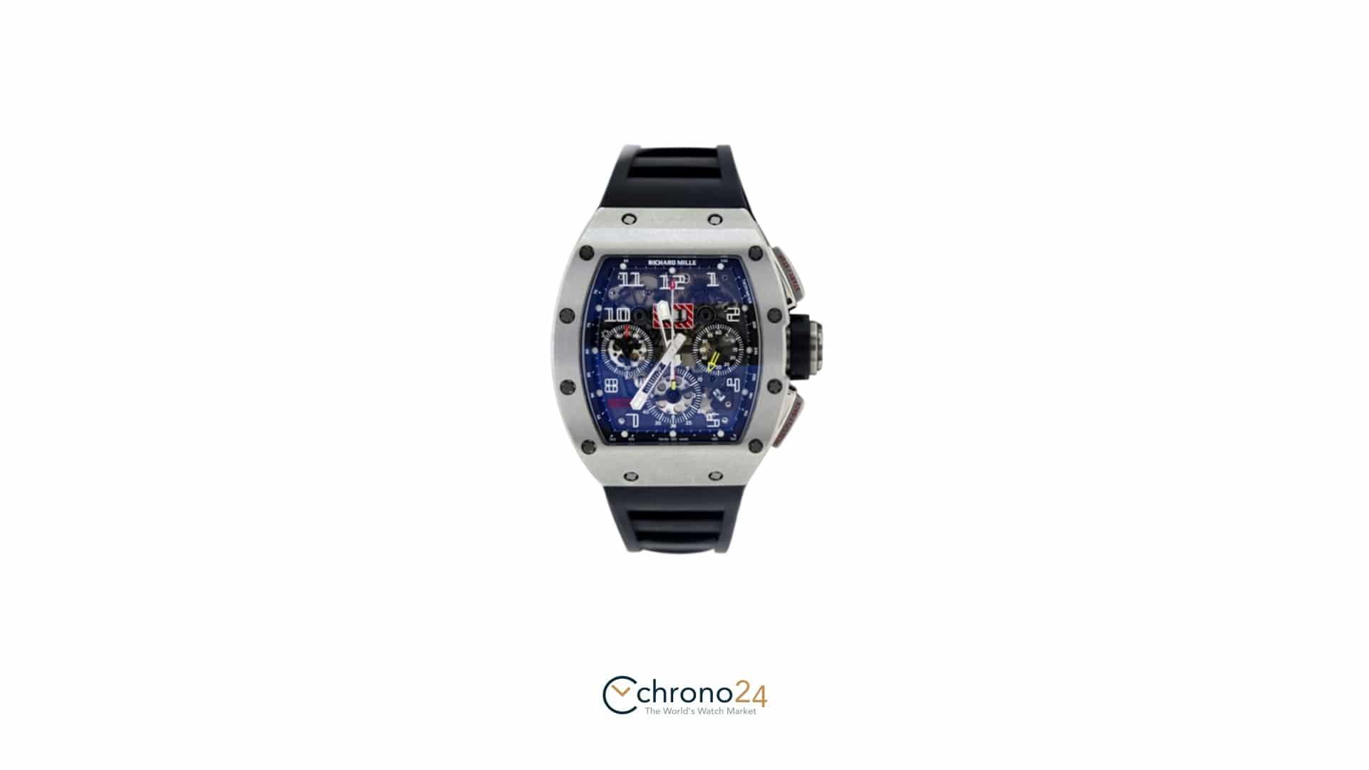Fußballer-Uhren – Richard Mille RM 011 Felipe Massa