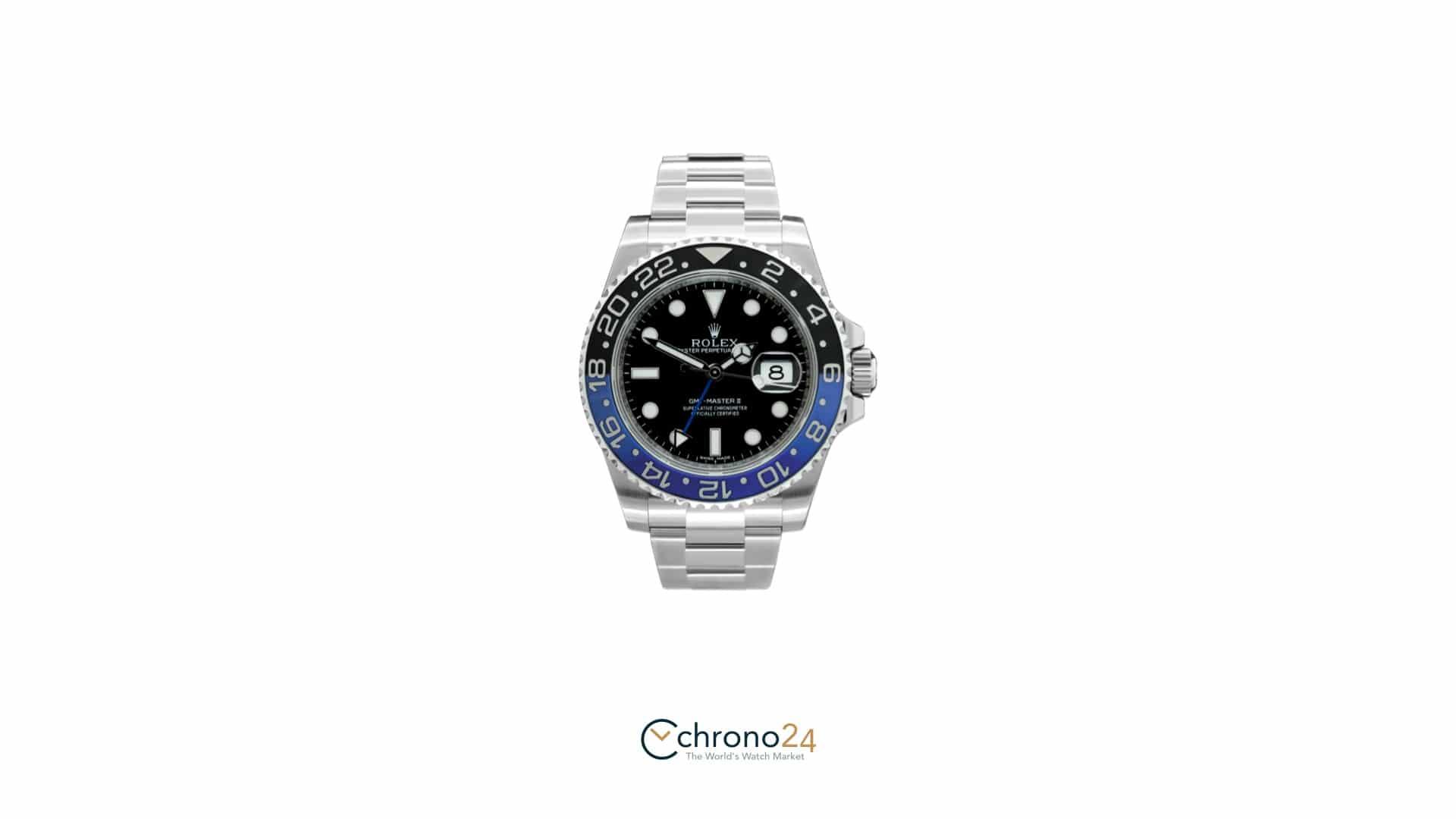 Fußballer-Uhren – Rolex GMT Master II Batman 116710 BLNR