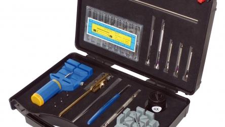 Uhrenwerkzeugset 378-teilig in Kunststoffbox