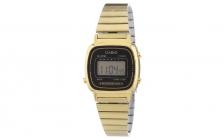 Casio Damen Retro Uhr Gold LA670WEGA-1EF