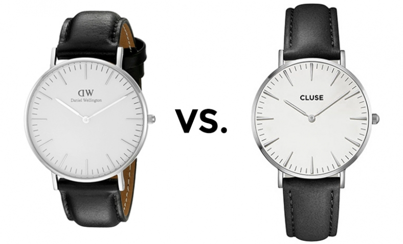 Daniel Wellington vs. Cluse