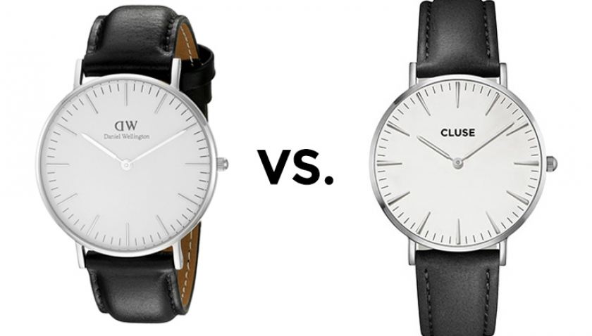 Daniel Wellington vs. Cluse