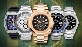 Fußballer-Uhren | Auf diese Uhren setzen Neuer, Ronaldo und Co.