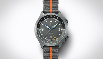 Laco Frankfurt GMT Fliegeruhr – Ready for departure