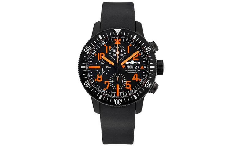 Limited Edition Fortis B-42 Black Mars 500